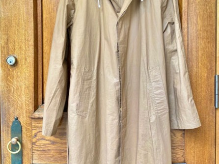 70s GUCCI  MEN'S RAIN COAT
