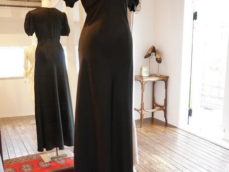 Special vintage Dress.~YSL rive gauche,Pierre Balmain~
