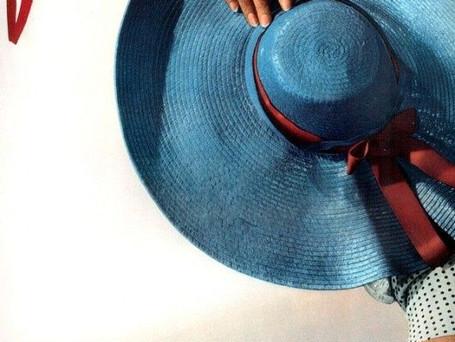 Vintage Blue.