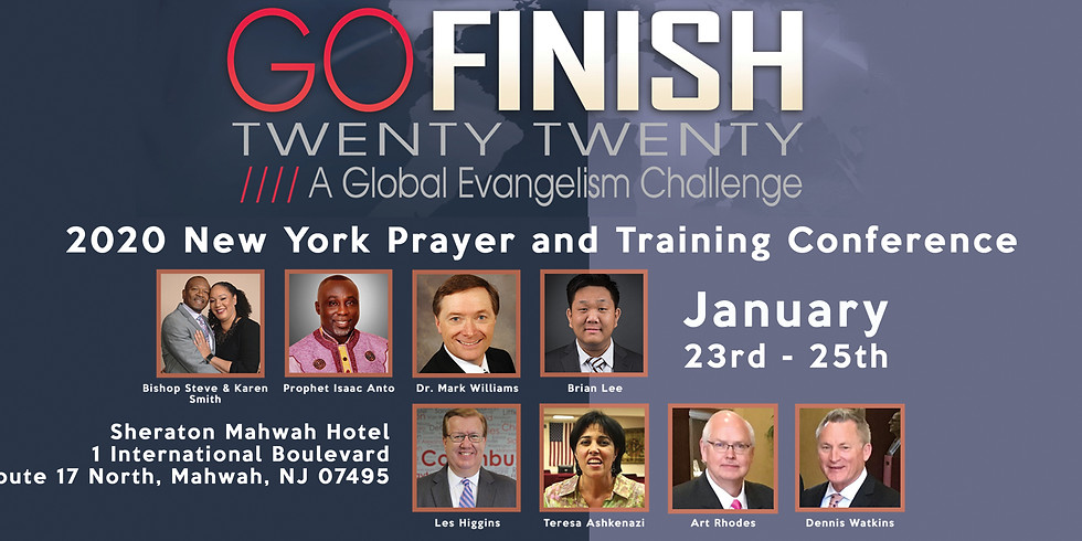 NYCOG GO FINISH 2020 Prayer and Training Conference