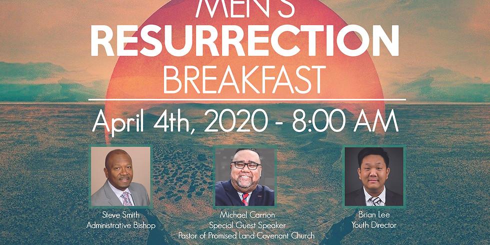 Men's Resurrection Breakfast 2020