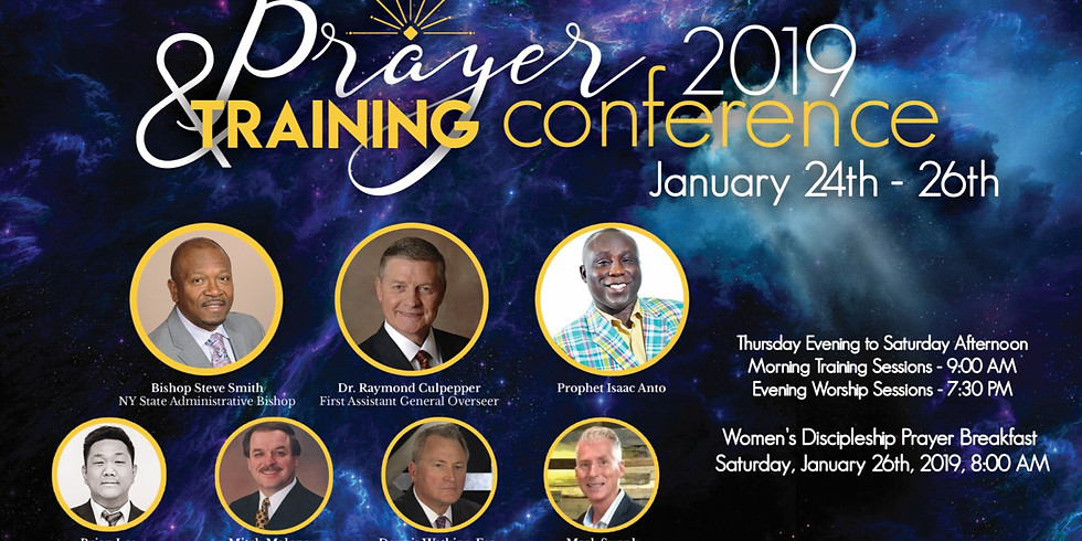 NYCOG Prayer & Training Conference 2019