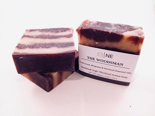 """Handcrafted Artisan Soap """"The Woodsman"""""""