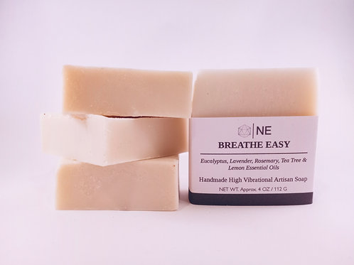 "Handcrafted Artisan Soap ""Breathe Easy"""