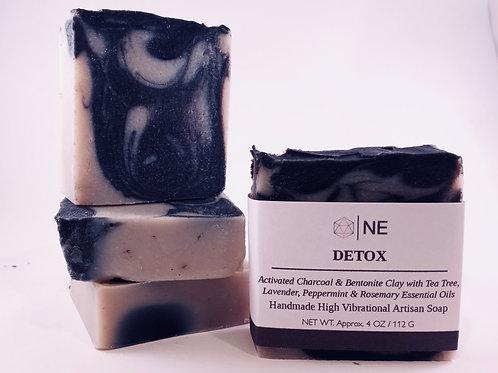 "Handcrafted Artisan Soap ""Detox"""