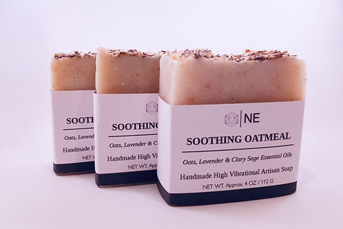 "Handcrafted Artisan Soap ""Soothing Oatmeal"""