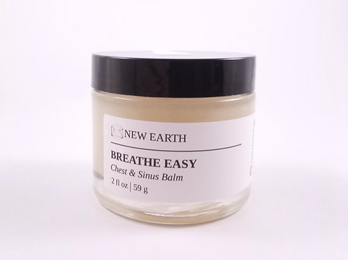 "Organic Chest & Sinus Balm ""Breathe Easy"""