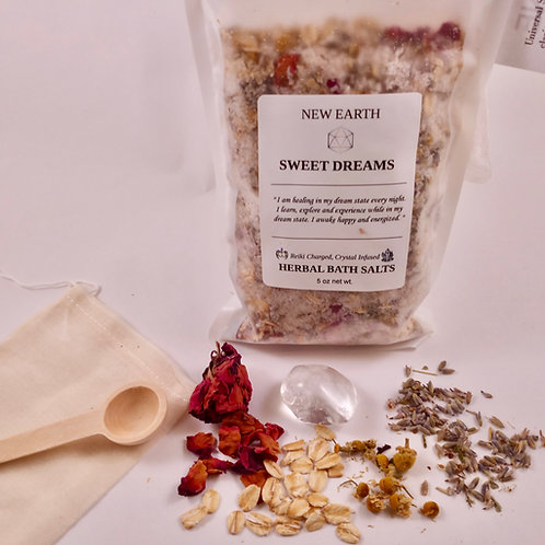 "Herbal Reiki Bath Soak ""Sweet Dreams"""