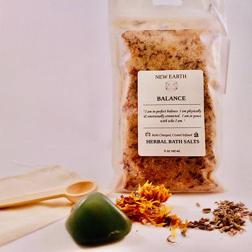 "Herbal Reiki Bath Soak ""Balance"""