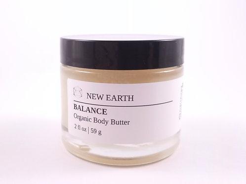 "Organic Body Butter ""Balance"""