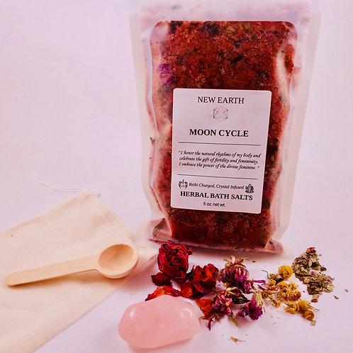 "Herbal Reiki Bath Soak ""Moon Cycle"""
