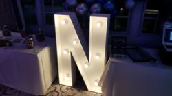 4ft light up letter N