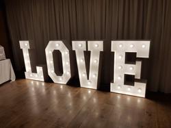 4ft light up Love4