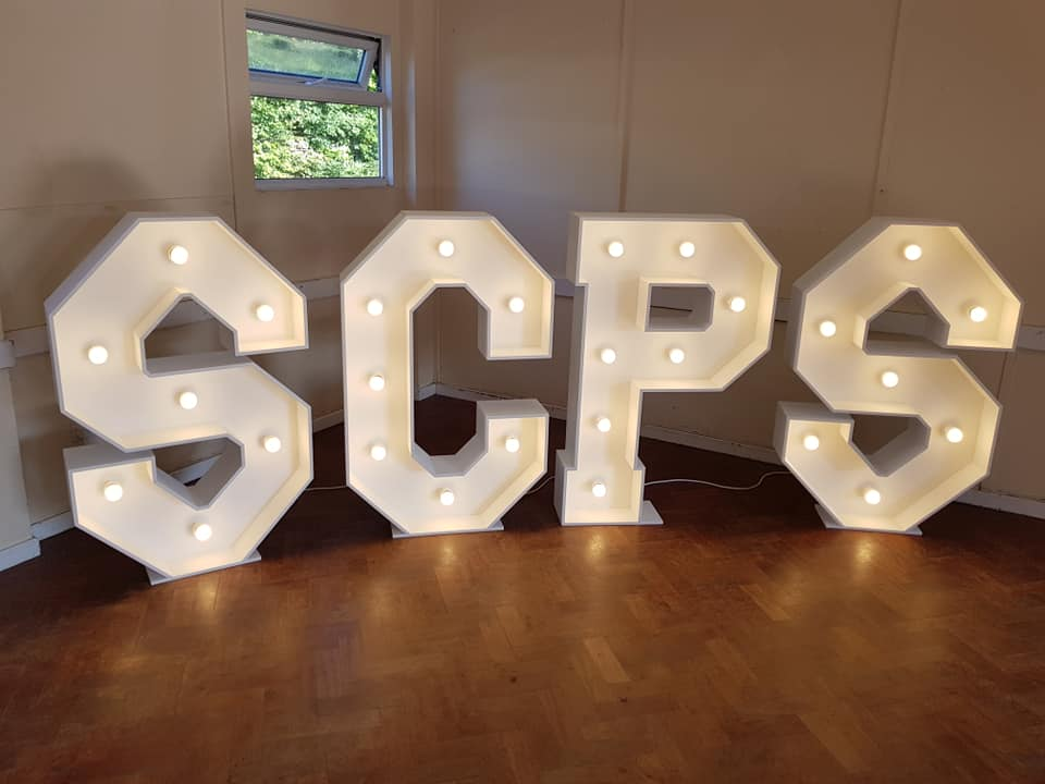 4ft light up SCPS