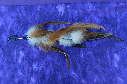 Feather Hair Clip 1044