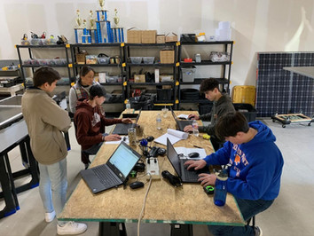 Solar Car Team Update - For the Week of 1/20/2020