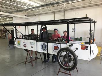 Solar Car Modifications for 2018 Begins