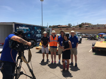 2018 Solar Car Challenge (SCC) - Day of Rest in El Paso, TX