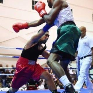 Fort Washington Adult Boxing match
