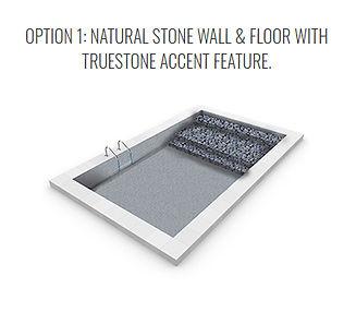 True Stone Vinyl Pool option 1