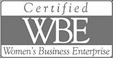 WBE certified logo Sun Drywall