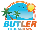 Butler Pool and Spa logo