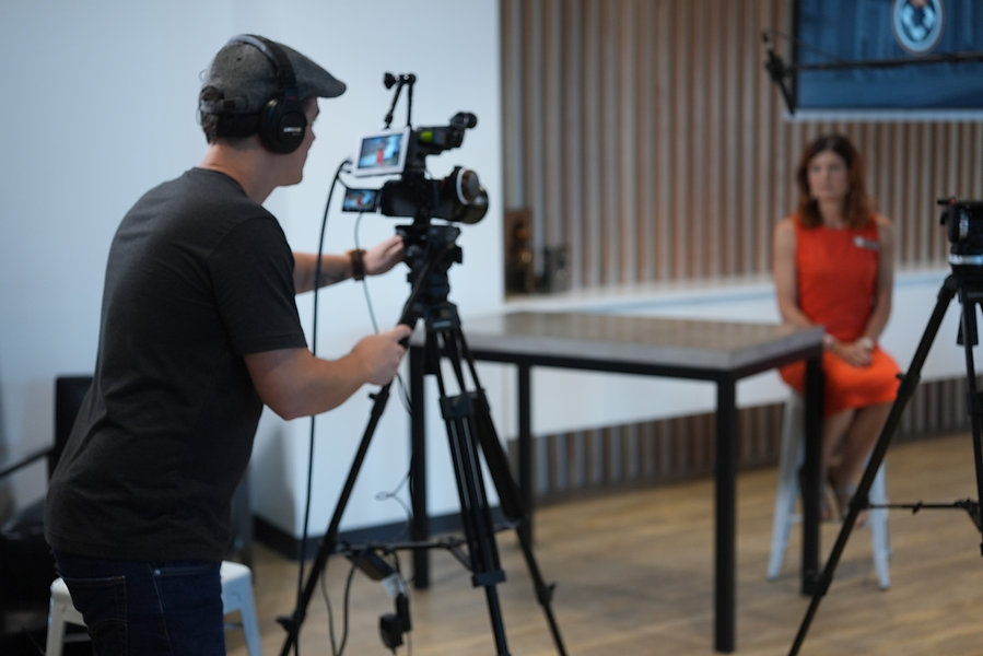 Corporate video production filming explainer videos