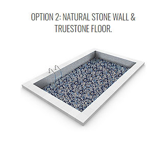 True Stone Vinyl Pool option 2