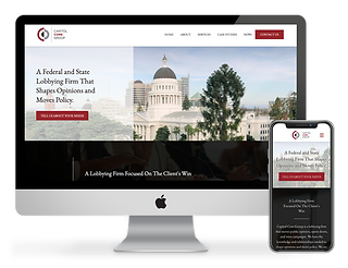 Capitol Core web design by Phantom Eye Design