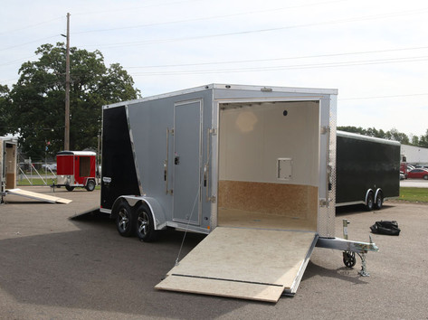 custom trailer open