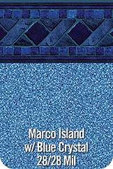MarcoIsland vinyl pool color