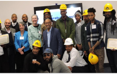 DCI's Class #3 of DC Residents Graduate with Skills and Jobs
