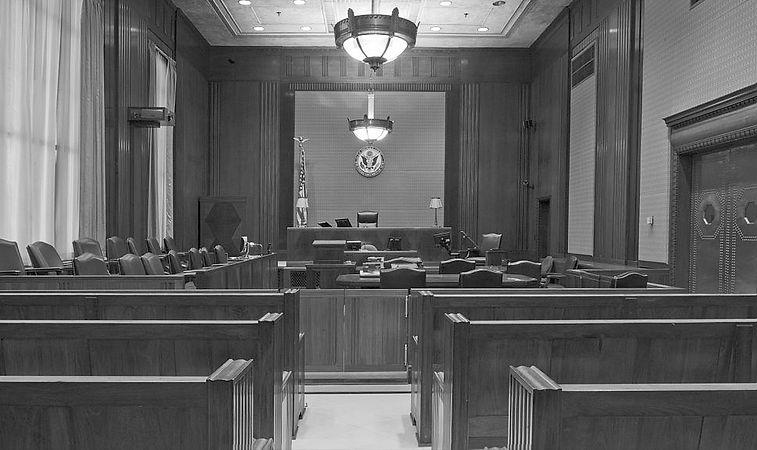 Montana courtroom