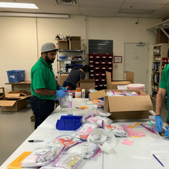 Invisors volunteering
