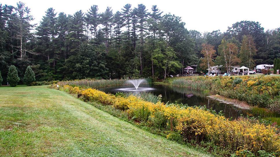 Pinederosa Campground pond