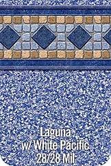 Laguna vinyl pool color