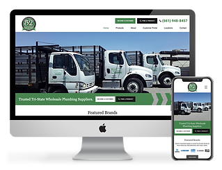 web design for wholesale supply company Desert Industrial Supply
