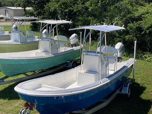 panga style boats