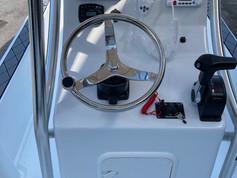 panga boat cockpit