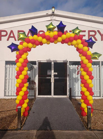 Grand Opening Arch - Balloon Decor