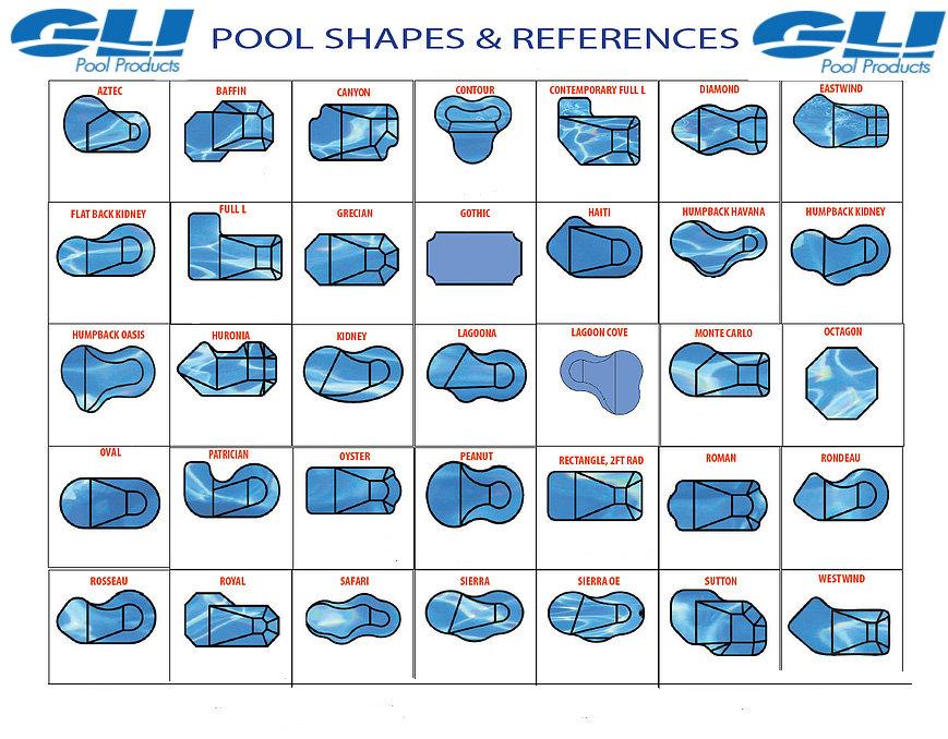 shapes for vinyl pool installation