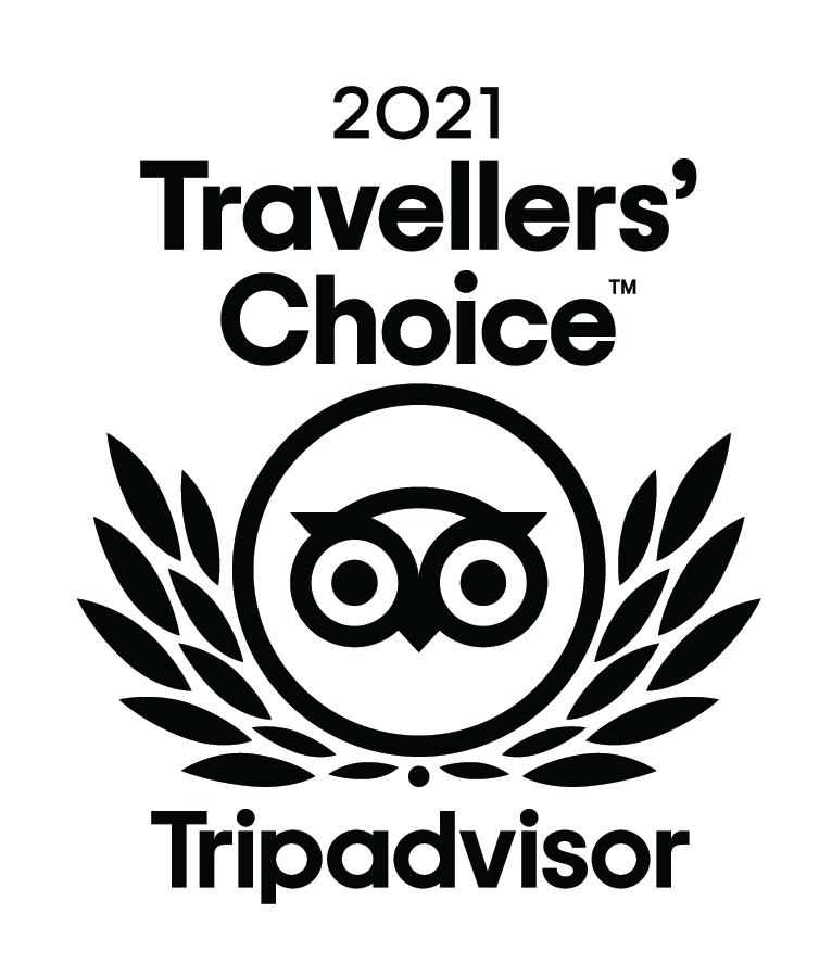 North GA Bed and Breakfast Trip Advisor 2021 Travelers choice award