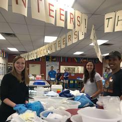 Invisors volunteering