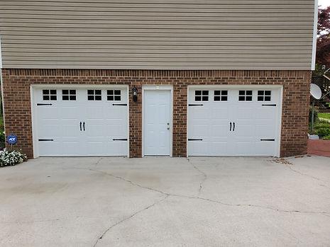 two garage door installation in birmingham AL