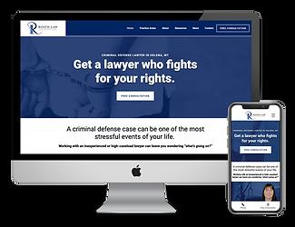 Roath Law website design by Phantom Eye