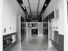custom trailer interior