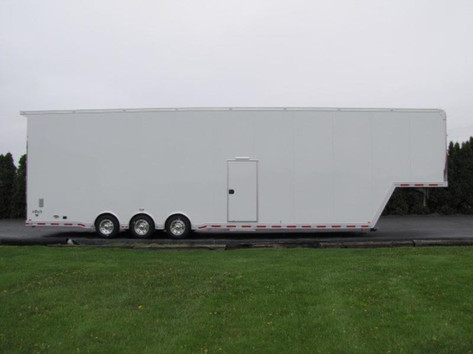 large triple axel trailer