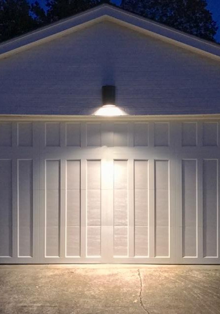 Garage door no windows