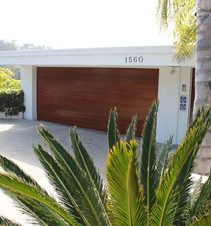 Wide garage doors