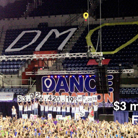 Dance 24-hours straight for the Children's Miracle Network